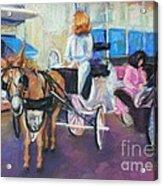 Buggy On Bourbon Street Acrylic Print
