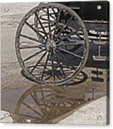 Buggy Wheels Acrylic Print