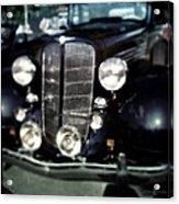 Buick At The Car Show Acrylic Print