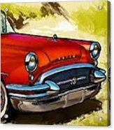 Buick Automobile Acrylic Print by Robert Smith