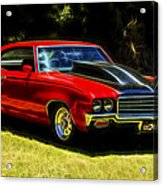 Buick Gsx Acrylic Print by motography aka Phil Clark