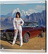 Buick Riviera Lowrider Acrylic Print