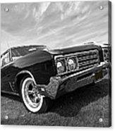 Buick Wildcat 1968 Acrylic Print