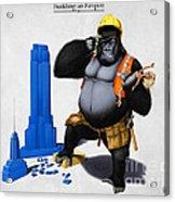 Building An Empire Acrylic Print