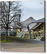 Building At Olympic Village Munich Germany Acrylic Print