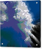 Building Cumulus Abstract Acrylic Print