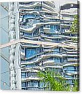 Building Reflection Acrylic Print