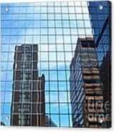Building With In A Building Acrylic Print