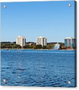 Buildings At The Waterfront, Kempenfelt Acrylic Print