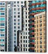 Buildings Acrylic Print