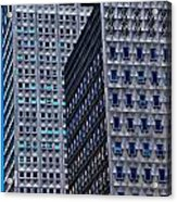 Buildings Downtown Pittsburgh Acrylic Print