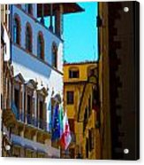 Buildings In Florence Italy Acrylic Print