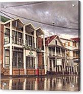 Buildings In Paramaribo Acrylic Print