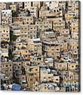 Buildings In The City Of Amman Jordan Acrylic Print