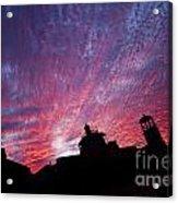 Builings In The Sky Acrylic Print