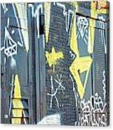 Bulgarian Graffiti Acrylic Print