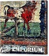 Bull Durham Acrylic Print