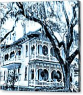 Bull Street House Savannah Ga Acrylic Print