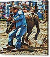 Bulldog It Acrylic Print