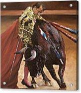 Bullfighter Acrylic Print