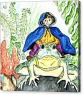 Bullfrog Steed Acrylic Print