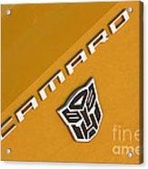 Bumble Bee Logo-7938 Acrylic Print