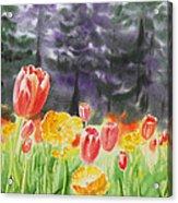 Bunch Of Tulips I Acrylic Print