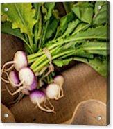 Bunch Of Turnips Acrylic Print