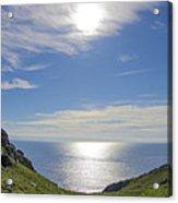 Bunglass Donegal Ireland - Seascape Acrylic Print