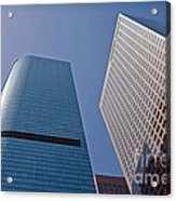 Bunker Hill Financial District California Plaza Acrylic Print