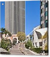 Bunker Hill Steps Los Angeles Acrylic Print