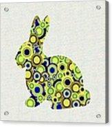 Bunny - Animal Art Acrylic Print by Anastasiya Malakhova