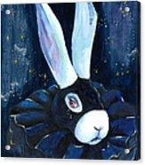 Bunny Blues Acrylic Print