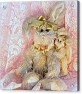 Bunny Lace Acrylic Print