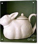Bunny Teapot  Acrylic Print