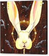 Bunny Yolo Acrylic Print