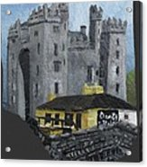 Bunratty Castle And Durty Nellys Acrylic Print