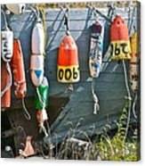 Buoy Hang Out Acrylic Print