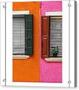 Burano 11 Poster Acrylic Print