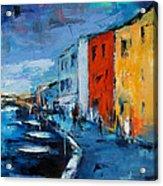 Burano Canal - Venice Acrylic Print