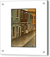 Burano Italy   No 18 Acrylic Print