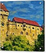 Burg Liechtenstein Acrylic Print