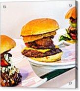 Burger Time Acrylic Print