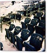 Buried Gillette Stadium Seats Acrylic Print