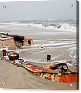 Buried Treasure On The Outer Banks I Acrylic Print by Dan Carmichael