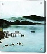 Burin Harbour Acrylic Print