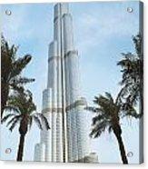 Burj Khalifa Acrylic Print by Jelena Jovanovic