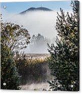 Burke Above The Fog Acrylic Print