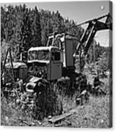Burke Idaho Logging Truck 2 Acrylic Print