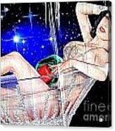 Burlesque Queen Dita Acrylic Print